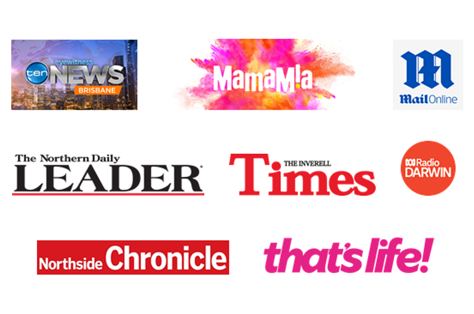 Some of the media attention our project has received!